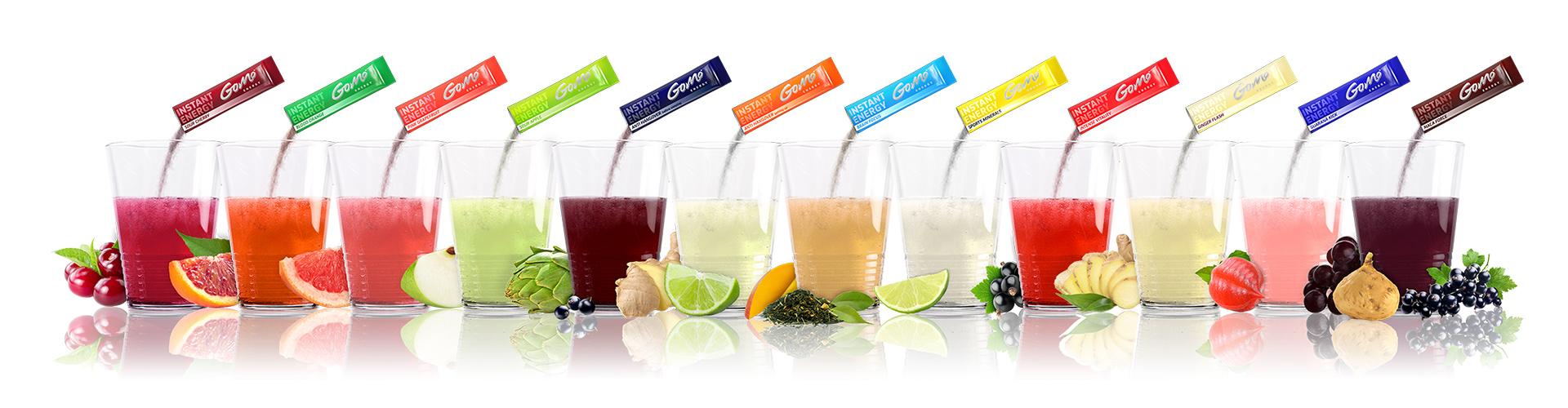GoMo ENERGY gegen Müdikgkeit low carb zuckerfrei sportgetränk konzentration focus mehr ausdauer mehr kraft Energie Getränk Energy Drink Vitaldrink Fitness